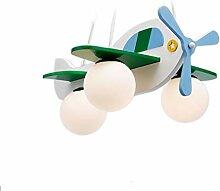ACZZ Kinderzimmer Kronleuchter Junge Flugzeug