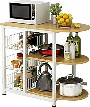 ACZZ Küchenregal mikrowelle rack küchenregal,