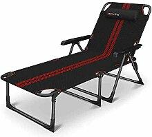 ACZZ Liegestuhl Patio Lounge Chair, 5-Position