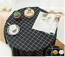 ACZZ runde Tischdecke Wasserdichte und kochfeste