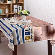 ACZZ Tischdecke Nordische Mehrzweck-Tischdecke mit
