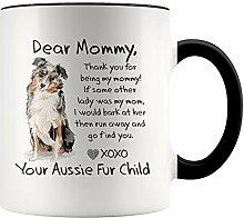 Ad4ssdu4 Liebe Mama Australian Shepherd Mom Mug