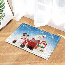 AdaCrazy Weihnachtsmann mit Schneemann Stand