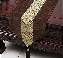 ADDMAT® Tischläufer Einfache Tischläufer moderne Meerwasser amerikanische pastoralen Kaffee Tischtuch Tischdecken Bett Flagge Bettende Handtuch Handtaschen Handtaschen , E , 33*300cm