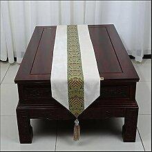 ADDMAT® Tischläufer Einfache Tischläufer moderne Meerwasser amerikanische pastoralen Kaffee Tischtuch Tischdecken Tischsets Flagge Bett Bettende Handtuch , A , 33*300cm