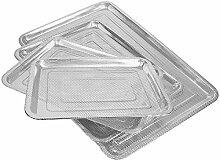 addys-onlinesale Edelstahl Grillblech (36x27cm)