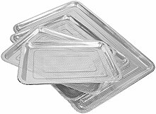 addys-onlinesale Edelstahl Grillblech (45x35cm)