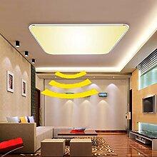ADEMAY LED Sensor Deckenleuchte Deckenlampe Radar