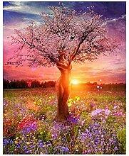 Adesiviamo DIY Ölgemälde Gartenbaum - Malen Sie