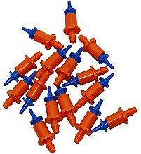 Adhere To Fly 100 Stück 360 Grad Automatische Sprinklerköpfe Bewässerung Bewässerung Verbinden 4/7 Schlauch Garten Ausrüstung