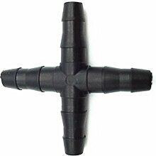 Adhere To Fly 4 Wege Schlauch Bewässerung Hydroponik Rohr (4mm)