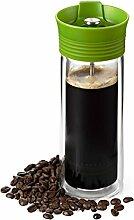 AdHoc Thermo Becher Thermo Coffee grün