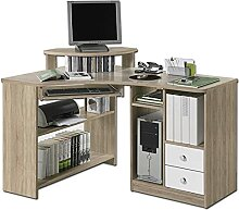 ADHW Schreibtisch Bürotisch Eck Schreibtisch