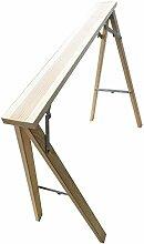Adler 702054Tischböcke hochklappbaren aus Holz