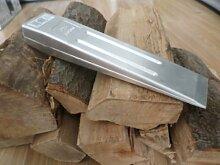 Adler Aluminium Spaltkeil Fällkeil Keil 1000g, geschmiedet, gerade Ausführung