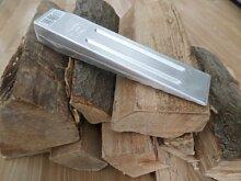Adler Aluminium Spaltkeil Fällkeil Keil 800g, geschmiedet, gerade Ausführung