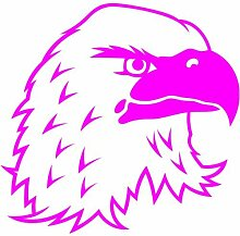 Adler Aufkleber 001, 50 cm, pink