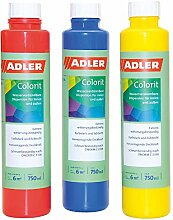 ADLER AVIVA Colorit-AF 501 Rot 750 ml Volltonfarbe