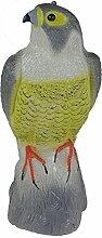 Adler gelb 40cm Kunststoff Gartendeko Dekofigur Garten Adlerfigur Gartenfigur