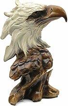 Design Toscano H/ängender Adler Skulptur Ma/ße 21,5 x 19,5 x 12 cm