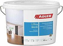 ADLER Wandfarbe weiss Aviva Ultra-Weiß, 9 Liter