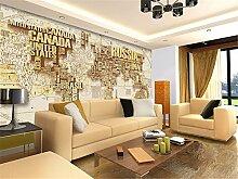 ADLFJGL Große 3D-Stereo Antike Weltkarte Wandbild Schlafzimmer Wohnzimmer Sofa Videos Hintergrund Tapete 150×105Cm Wallpaper