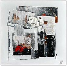 ADM Abstrakte Komposition Abstract acryl gemälde