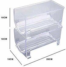 Adminitto88 Kühlschrank Weinregal Kunststoff