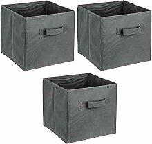 ADOB 3er Set Faltbox, Aufbewahrungsbox,