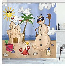 AdoDecor Badezimmer dekorative Accessoires Sand
