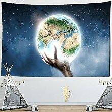 AdoDecor Erdteppich Sternenhimmel Wandbehang