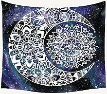 AdoDecor Mandala Tapisserie Wandbehang böhmischen