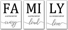 AdoDecor Nordische minimalistische Plakate und