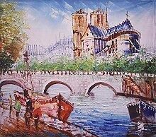 AdoDecor Ordentliches Dekor Seine River Bridge