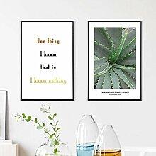 AdoDecor Pflanze Aloe Wohnkultur Nordische