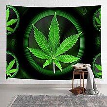 AdoDecor Tapisserie Marihuana Blätter Pflanze