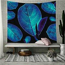 AdoDecor Tapisserie Tropische Pflanze Wandbehang