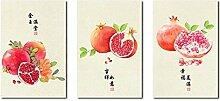 AdoDecor Traditionelle chinesische Art Wandkunst