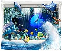 AdoDecor Unterwasserwelt Tapisserie hängendes