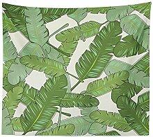 AdoDecor Wanddeko wandteppich Tropische Pflanze