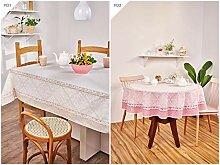 AdonisUSA Bedruckte Tischdecke aus Stoff mit