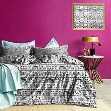 Adorise Three-Piece-Bett Bettbezug Antike