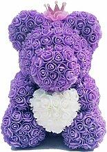 Adoudou Dekoration Rose Bear Teddy Cub Forever