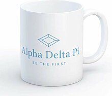 ADPi Alpha Delta Pi Logo Diamond Mug Sorority