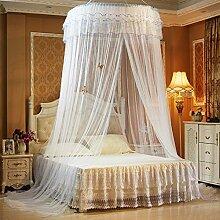 ADQIAO Home-Decke-moskitonetz, Doppelbett Boden