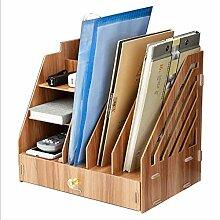 ADstore Holz Hängeregal Büroregal Retro Cube