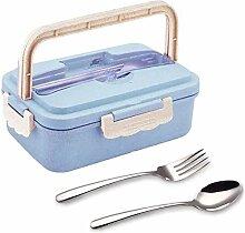 Adult Child Lunch Box Weizenfaser Umweltschutz