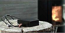 Aduro Smart-Response - Verbrennungsvorgang auf dem
