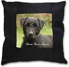 Advanta Fell Terrier Dog Love You Mum Schwarz
