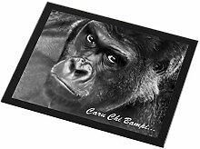 Advanta - Glass Placemats Welsh Gorilla 'Caru